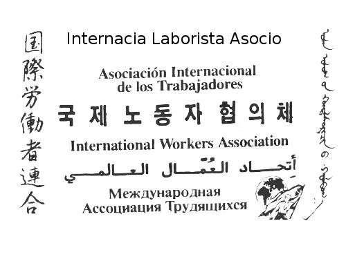 Internationale Arbeiter*innen-assoziation (mehrsprachig)